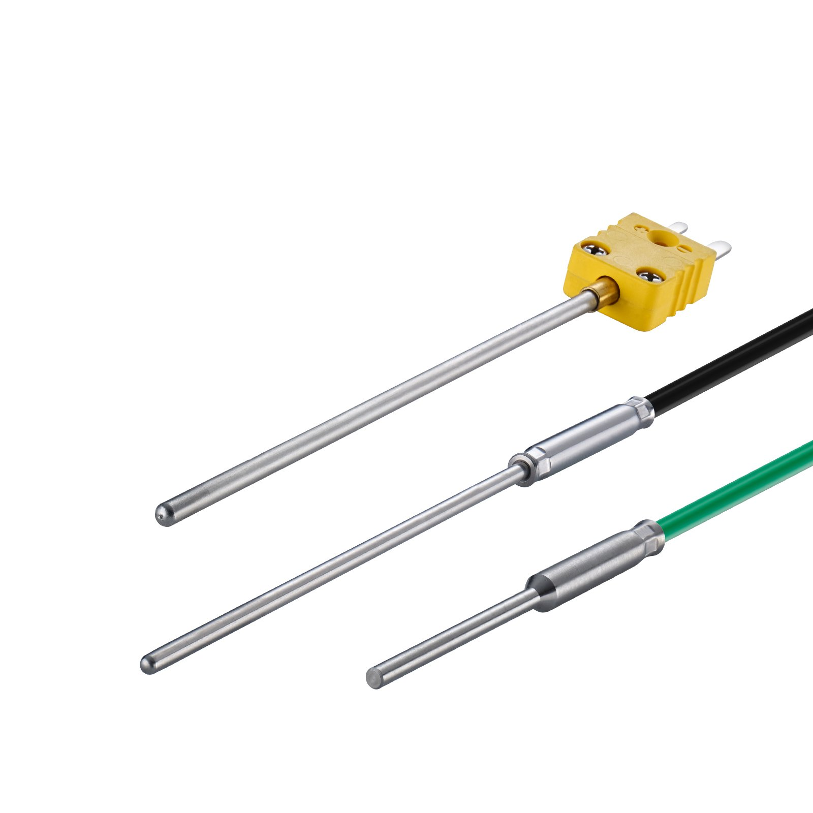 High temperature probes, temperature probes for high temperatures